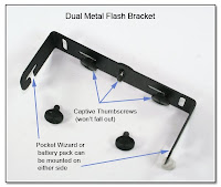 DF1019: Dual Flash Stand - Metal