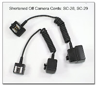 OC1038: Shortened Off Camera Cords: SC-28 & SC-29