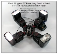 CP1030: RadioPopper PX Mounting Bracket Mod - Used with FourSquare Bracket (3 out of 4 units fired correctly)