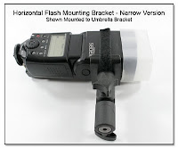 Horizontal Flash Mounting Bracket (HFMB) - Narrow Version