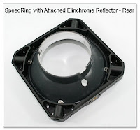 PJ1089: SpeedRing with Attached Elinchrome Reflector - Rear View