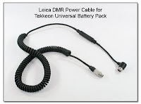 Leica DMR Power Cable for Tekkeon Universal Battery Pack