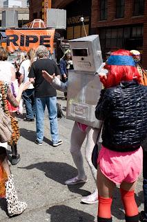 Gay Avatar Protest