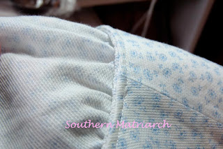 layers of pique fabric in