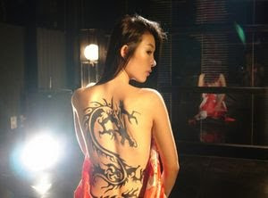 Tribal Tattoo for Girl