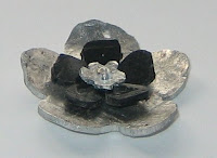 flower pendant handmade jewellery