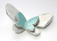 hand cut butterfly charm- handmade, butterflies, butterfly, charm, aluminium, silver, turquoise, jewellery, necklace, earring