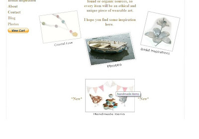 website update - handmade, website, update, handmade, items, surf jewels