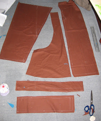 cutting out pattern