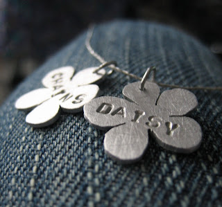 handmade jewellery daisy chain necklace