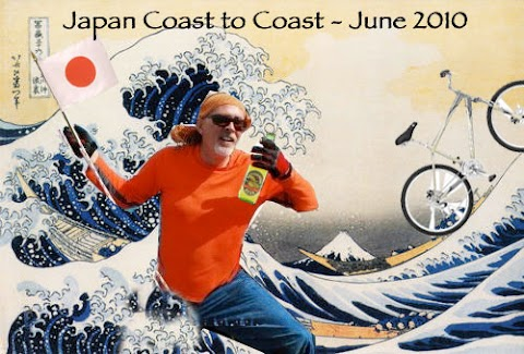 Señor Crankee, Cycling across Japan for Hope International