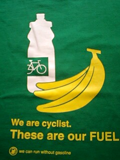 We are cyclist. These are our FUEL.