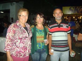 FÁTIMA NUNES, MENDONÇA E NAILDES SUA ESPOSA