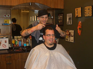 LAVELLA-BLOG!: Shave and a haircut, Nicky the Barber style.