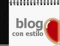 Blog con estilo, otorgado por siestoy :P