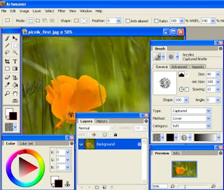 Artweaver - Free Image Editor Software