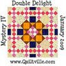 2009 #1 Mystery Quilt #1 - Double Delight