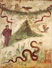 Ο θεός του κρασιού και της χαράς Διόνυσος