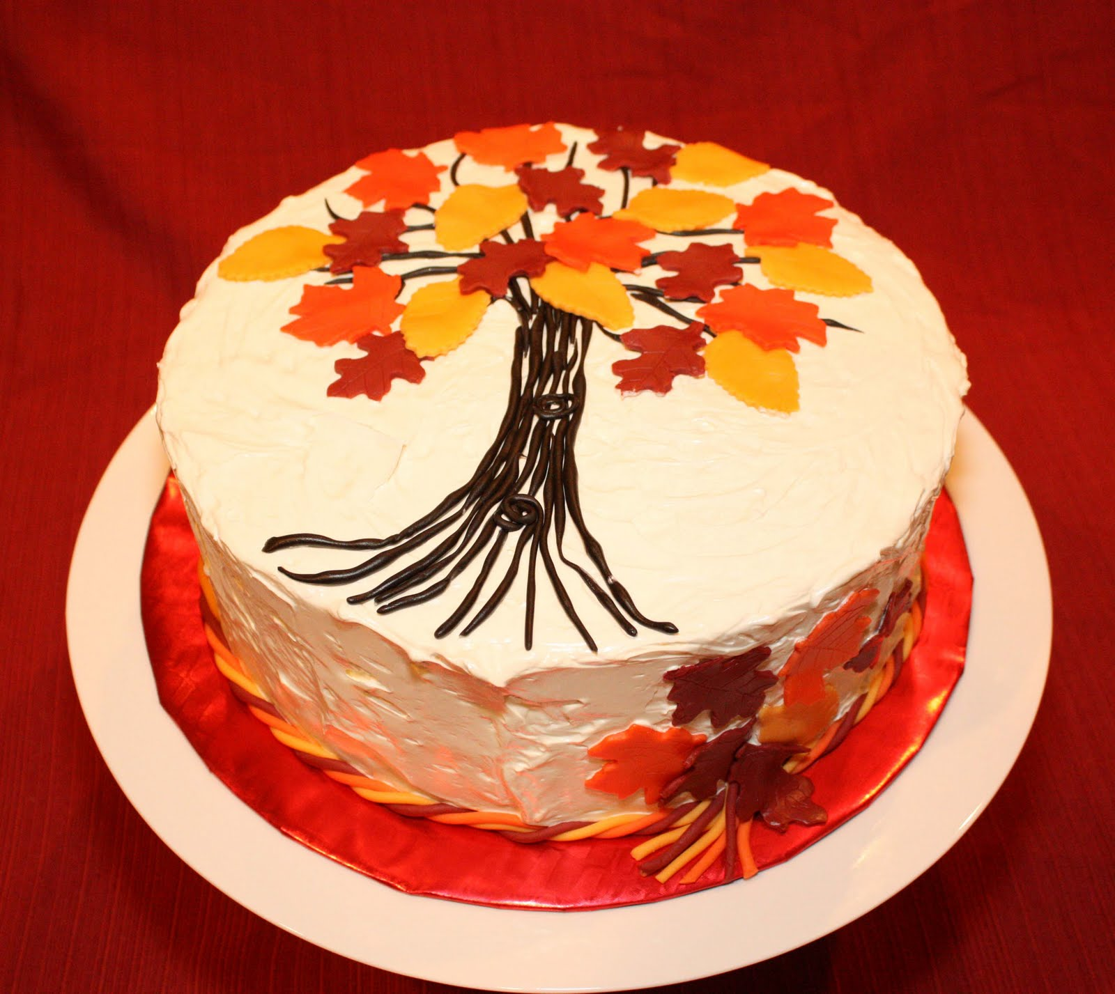 What are the divas doing 12 01 2009 01 01 2010 for Fall cake ideas