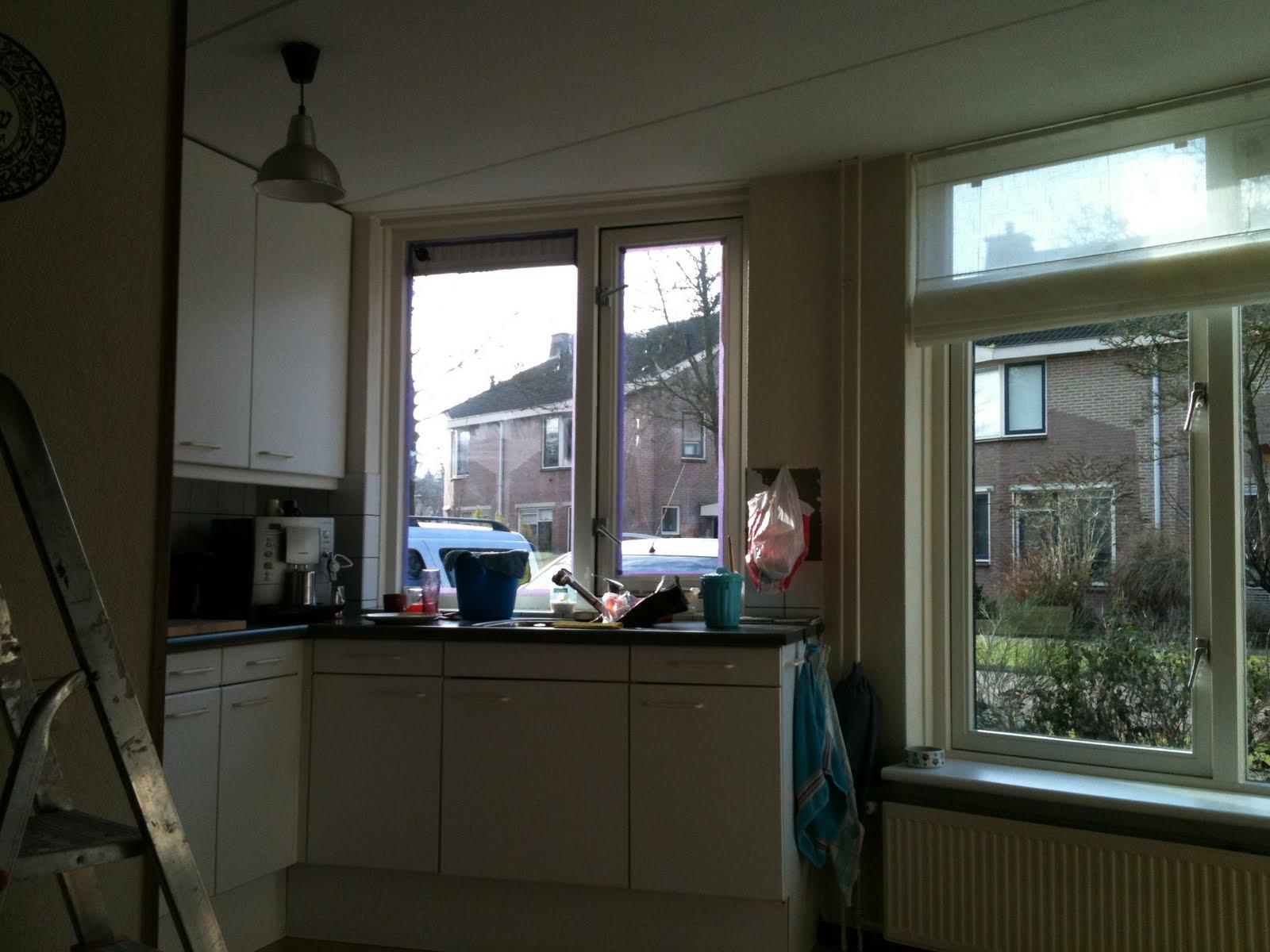 Caroline keuken update - Gordijnen meid ...