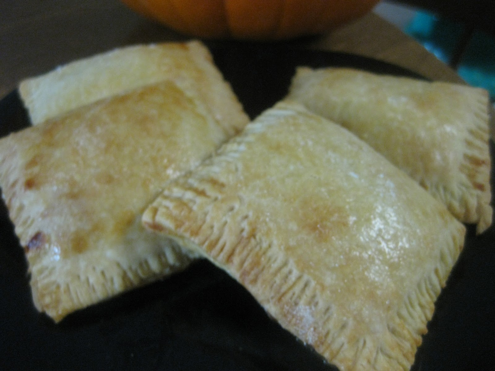 Pumpkin turnovers…