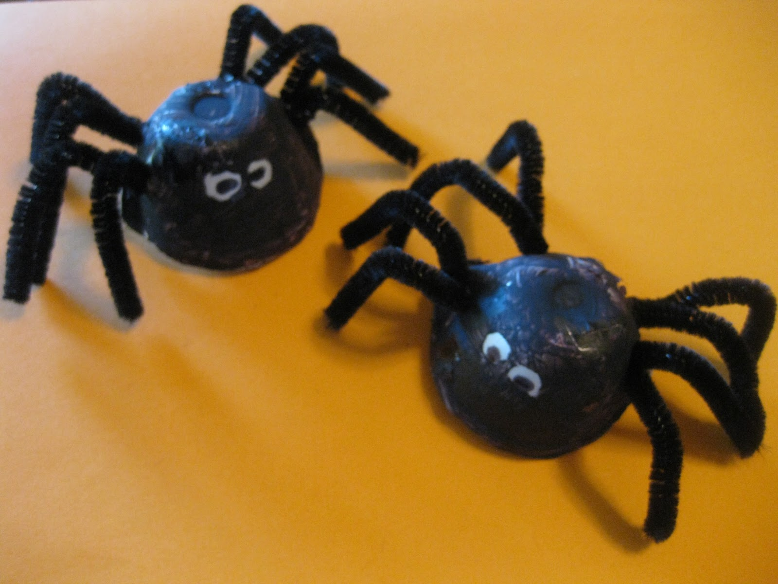 Halloween Spider Craft Lollipop