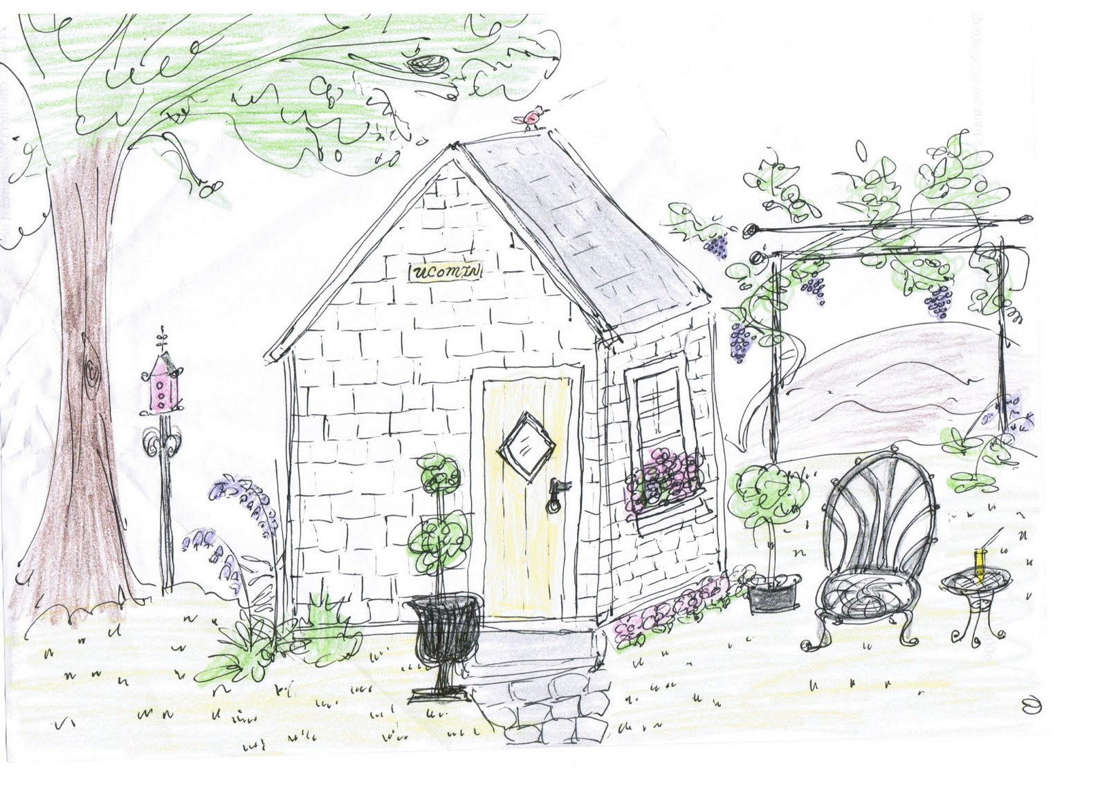 Claires Chicken Coop With Fantasy Touches