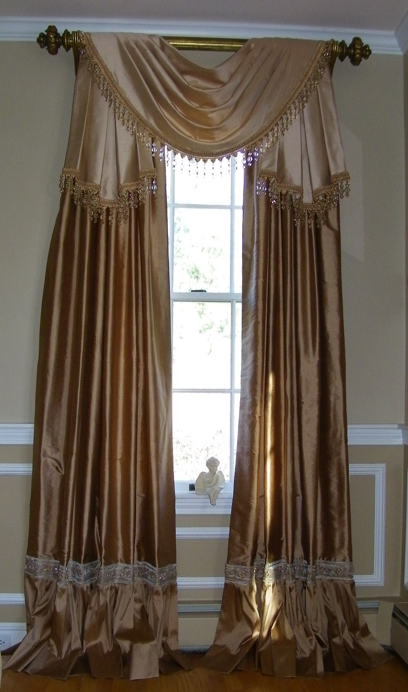 Maison decor extravagant draperies - Curtains designs images ...