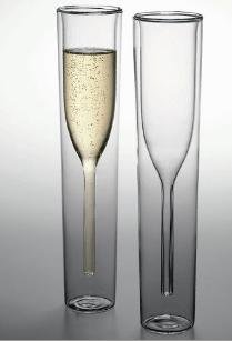 imaison  20 flûtes à champagne design jetables plastique