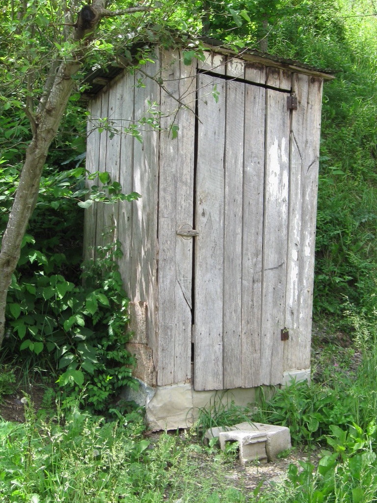 Folkways notebook outhouses a thing of the past for Outhouse pictures