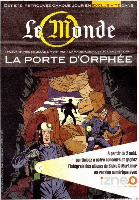 Dedicacedebd a paraitre black et mortimer t20 - Blake et mortimer la porte du druide ...