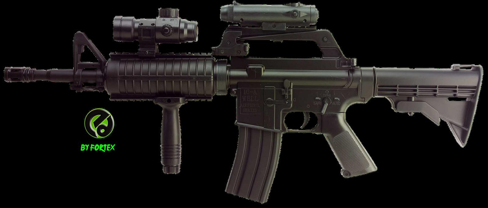 Armas De Fuego Mega Renders