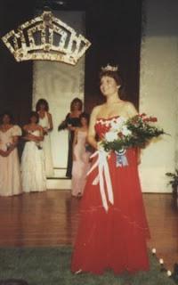 Sarah Palin como miss Wasilla 1984