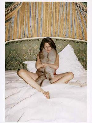 Charlotte Rampling, por Juergen Teller