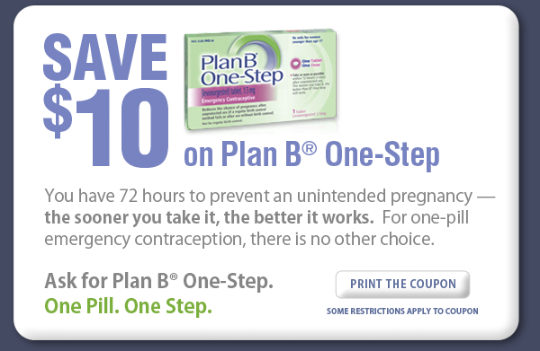 Plan B Emergency Contraception Facts and.