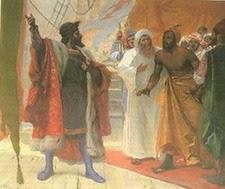 Vasco da Gama chega a Calecute