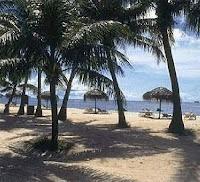 A Saipan beach