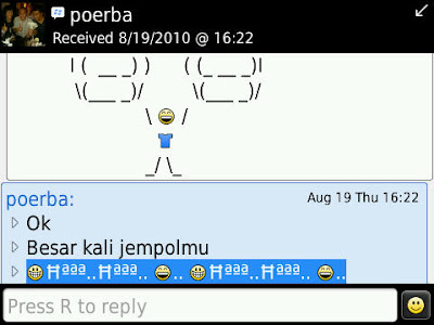 About BLACKBERRY Messenger AUTOTEXT