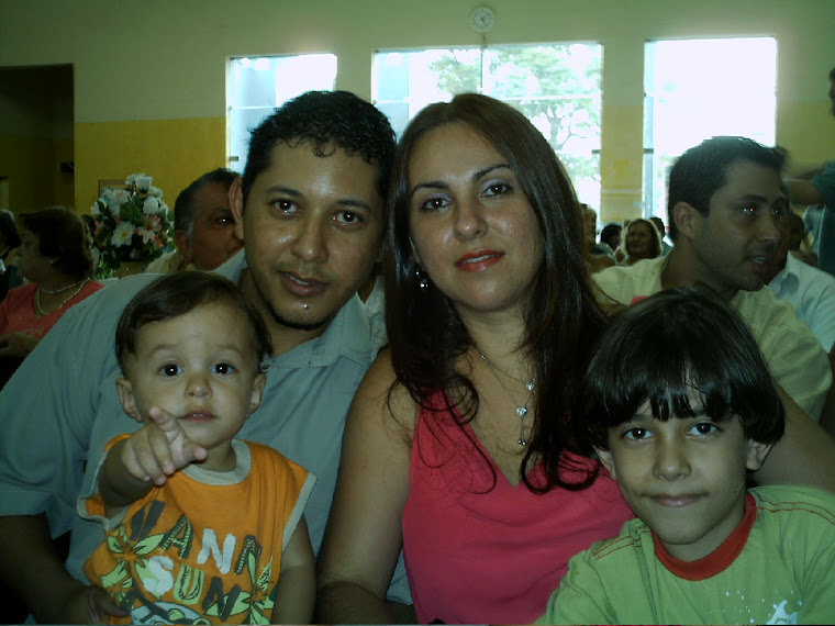 *****MINHA FAMILIA QUERIDA*******