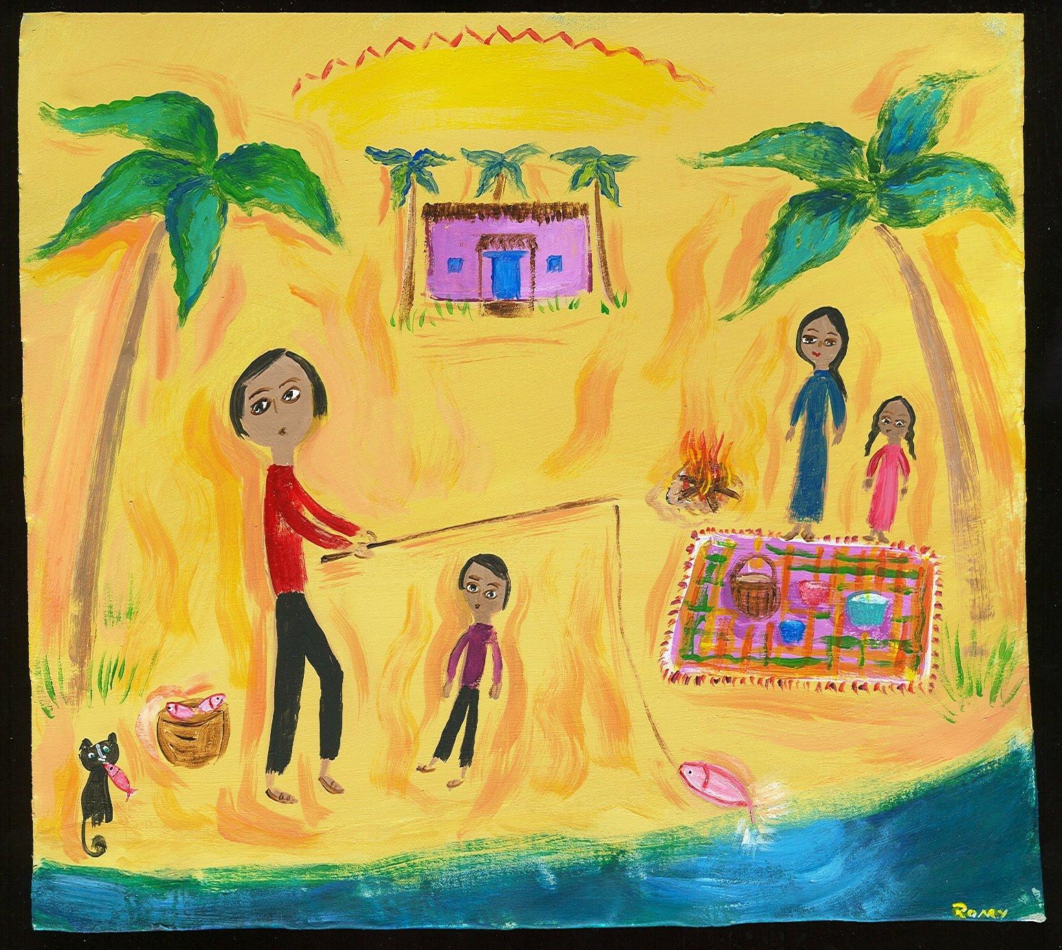 Mexican Folk Art Paintings-Original Artwork Direct From The Artist ...
