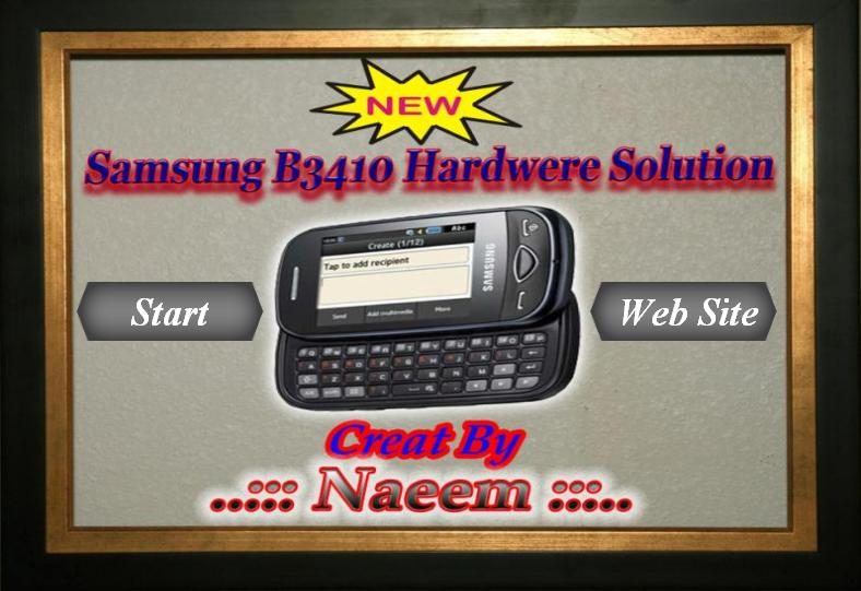 samsung_b3410_hardwere_solution