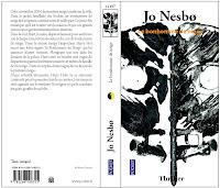 triller; couverture pocket; nesbö, dessin expérimental; décomposition