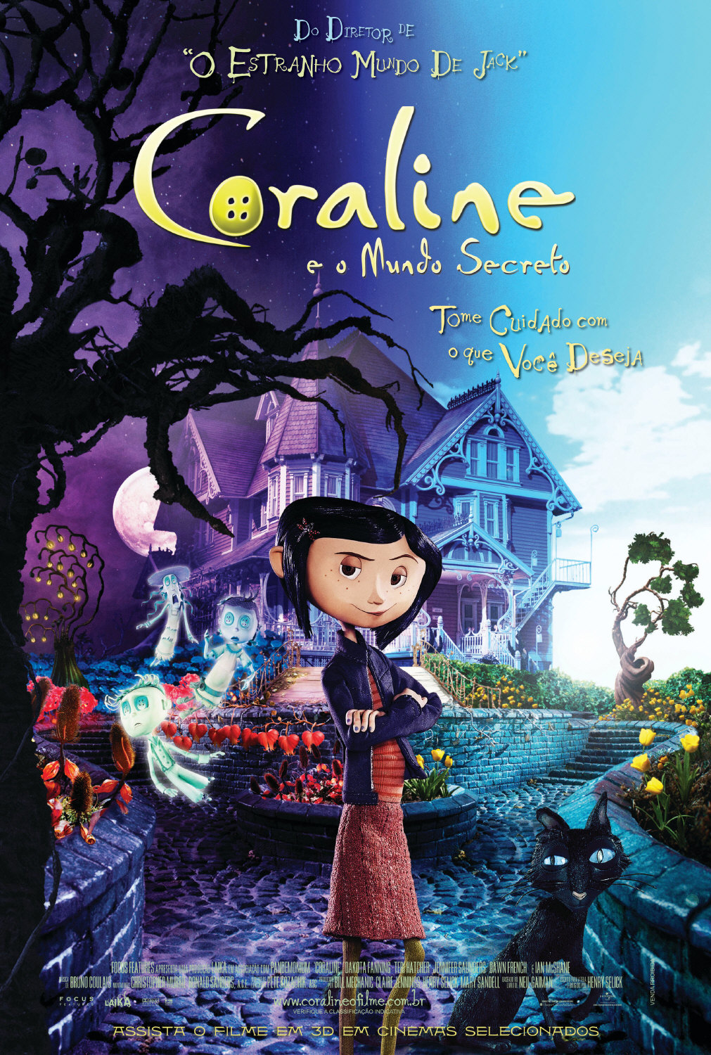 Download Baixar Filme Coraline e o Mundo Secreto  Dublado