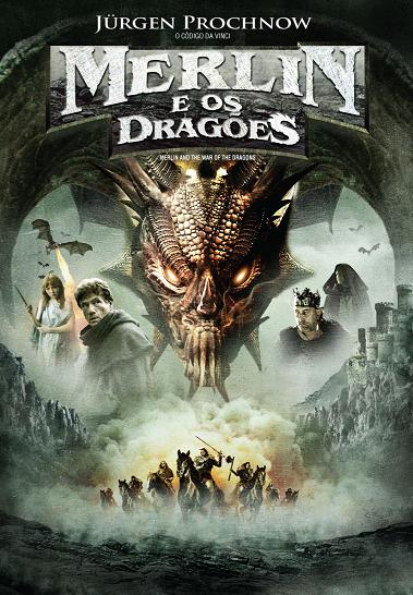 Filme Merlin e os Dragões DVDRip RMVB Dublado