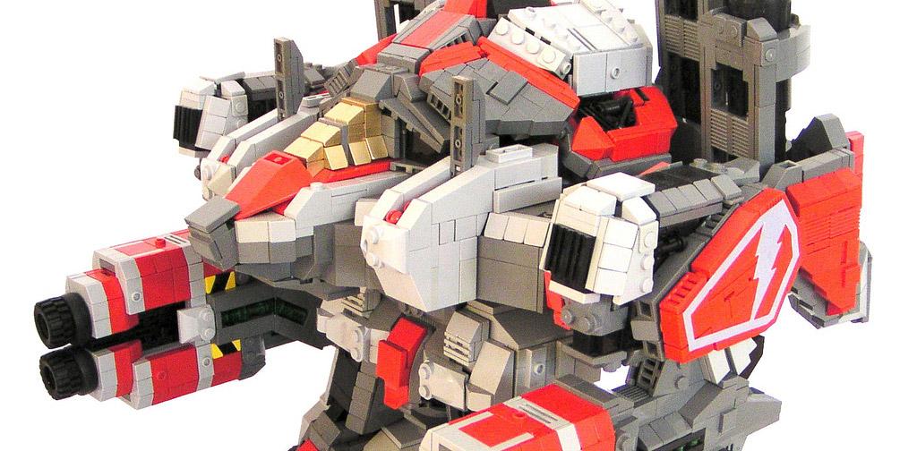 Как сделать своего робота из кубиков лего