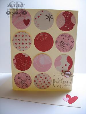 Love You Much Valentine Card