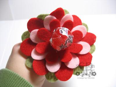 Flower Folds Lollipop