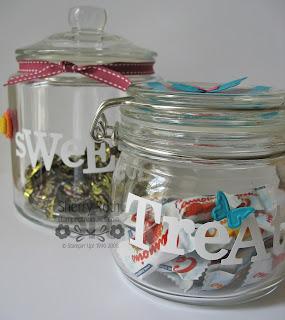 Decor Elements Vinyl Candy Jars