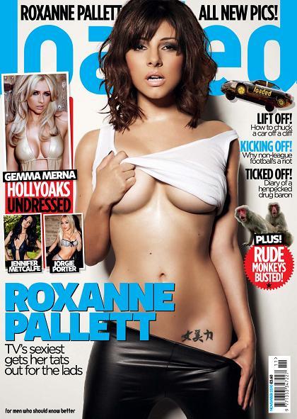 LOADED MAGAZINE SEPTEMBER 2010 ROXANNE PALLETT