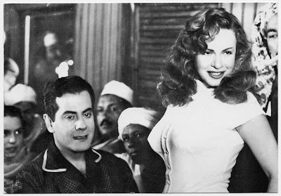 Hind Rostom (right)